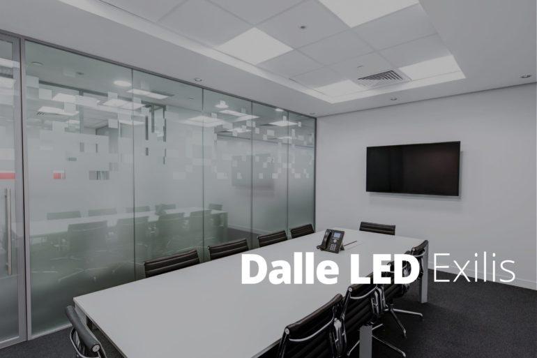 Des Dalles LED pour le tertiaire